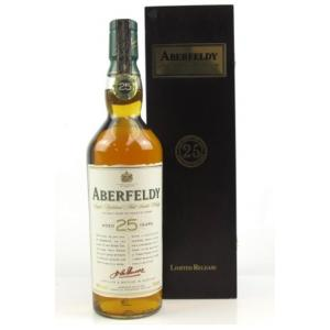 Aberfeldy 25 Year Old Single Malt Scotch Whisky - 70cl 40%