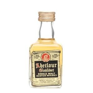 Aberlour Glenlivet 9 Year Old Single Malt Scotch Whisky Miniature - 5cl 70 Proof