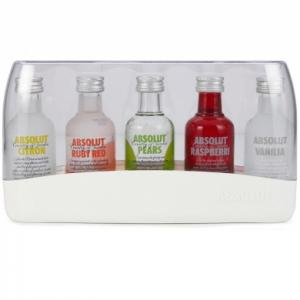 Absolut Vodka Gift Pack - 5x5cl 40%