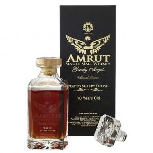 Amrut Greedy Angels 10 Year Old Peated Rum Cask - 57.1% 70cl