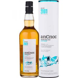 Ancnoc 2001 Vintage Single Malt Scotch Whisky - 70cl 46%