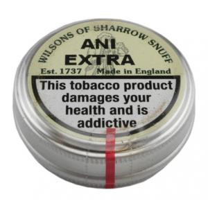 Wilsons of Sharrow - Ani Extra Snuff - Small Tin - 5g