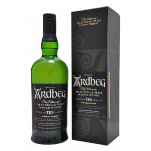 Ardbeg 10 Year Old Single Malt Scotch Whisky - 70cl 46%