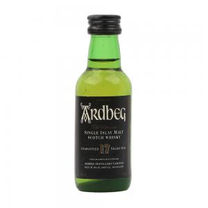Ardbeg 17 Year Old 'Ultimate' Single Malt Scotch Whisky Miniature - 5cl 40%