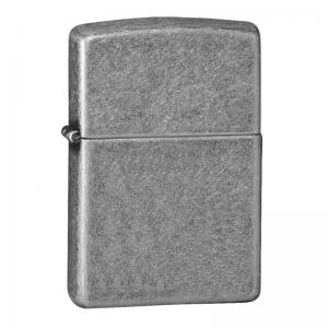 Zippo - Armor Antique Silver Plate - Windproof Lighter