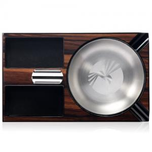 Colibri Windsor Wooden Ashtray - Brown