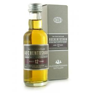Auchentoshan 12 Year Old Single Malt Scotch Whisky Miniature - 5cl 40%