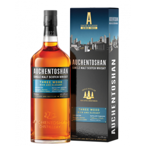 Auchentoshan Three Wood Matured New Packaging - 70cl 43%