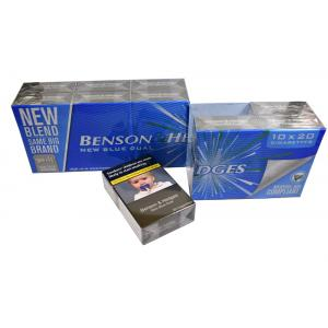 Benson & Hedges New Blue Dual Kingsize - 10 Packs of 20 Cigarettes (200)