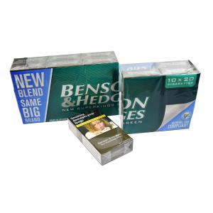 Benson & Hedges New Green Superkings - 10 Packs of 20 Cigarettes (200)