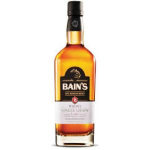 Bains Single Grain South African Whisky - 70cl 40%
