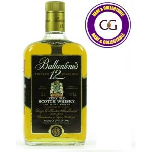 Ballantines 12 Year Old Very Old Scotch Whisky - 75cl 43%