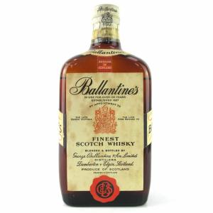 Ballantines 1950s Finest  Scotch Whisky - 75cl