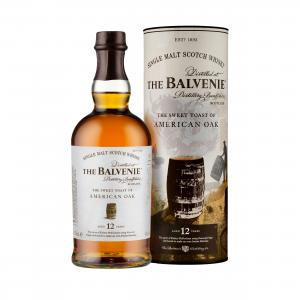 Balvenie 12 Year Old Stories American Oak Single Malt Scotch Whisky - 70cl 43%