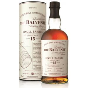 Balvenie 15 Year Old Single Barrel Sherry Cask Malt Scotch Whisky - 70cl 47.8%