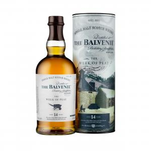 Balvenie 14 Year Old Stories Week of Peat Single Malt Scotch Whisky - 70cl 48.3%