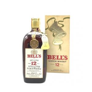 Bells 12 year old Deluxe Italian Import Blended Scotch - 40% 75cl