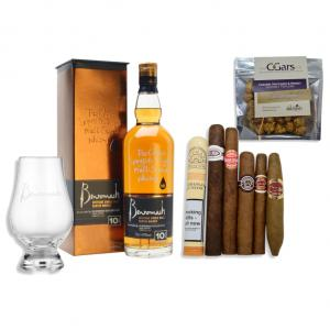 Benromach 10 Year Old Whisky + Cuban Cigar Selection Pairing