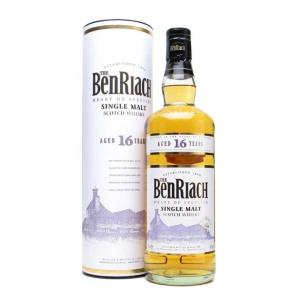 BenRiach 16 Year Old Single Malt Scotch Whisky - 70cl 40%