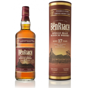 BenRiach 17 Year Old Pedro Ximenez Finish Single Malt Scotch Whisky - 70cl 46%