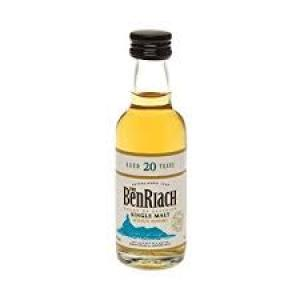 Benriach 20 Year Old Single Malt Scotch Whisky Miniature - 5cl 43%