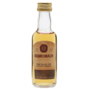 Benromach 12 Year Old Glenlivet Single Malt Scotch Whisky Miniature - 5cl 40%