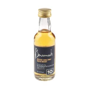 Benromach 10 Year Old Single Malt Scotch Whisky Miniature - 5cl 43%