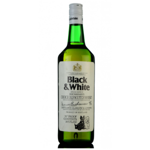 Black & White 1970s Buchanans Choice Old Scotch Whisky - 75cl 40%