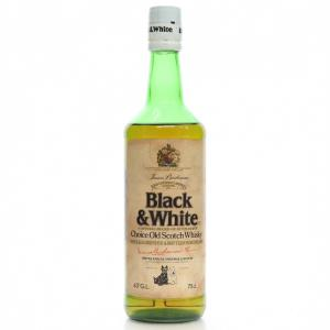 Black & White 1970s - 75cl 43%