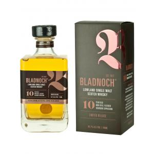 Bladnoch 10 Year Old Single Malt Scotch Whisky - 70cl 46.7%