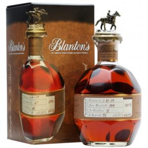 Blantons Straight From The Barrel Bourbon Whiskey - 70cl 65.3%