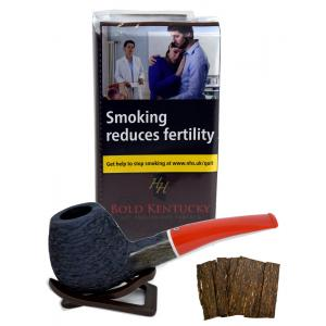 Mac Baren HH Bold Kentucky Flake Pipe Tobacco 050g (Pouch)