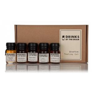 Drinks by the Dram Bourbon Tasting Set - 5 x 3cl 49%