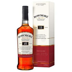 Bowmore 15 Year Old Single Malt Scotch Whisky - 70cl 43%
