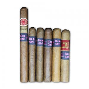 It's a Girl Dominican Selection Sampler - 6 Cigars