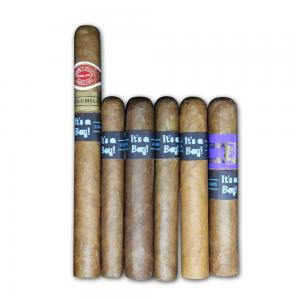 It's a Boy New World Cigar Selection - 6 Cigars