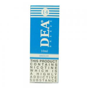 DEA Breeze Vape E- Liquid 10ml 14mg