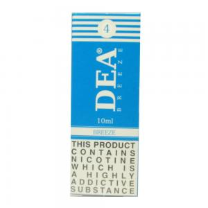 DEA Breeze Vape E- Liquid 10ml 4mg