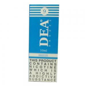 DEA Breeze Vape E- Liquid 10ml 9mg