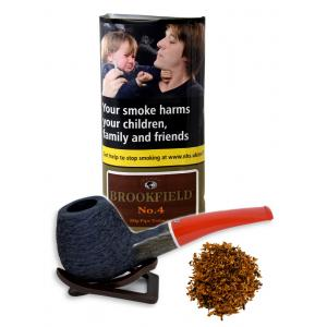 Brookfield No. 4 Pipe Tobacco (Black Bourbon) 50g (Pouch)