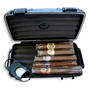 Budget New World Cigar Selection + C.Gars Crushproof Travel Humidor Sampler
