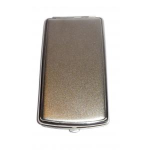 Brushed Steel Cigarette Case