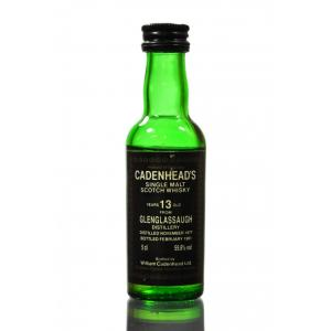 Cadenheads 13 Year Old Glenglassaugh Single Malt Whisky Miniature - 5cl 59.8%