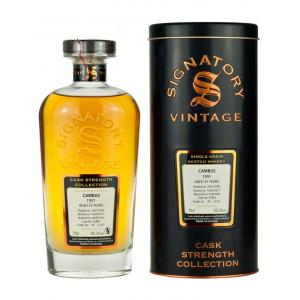 Cambus 25 Year Old 1991 Cask Strength Collection Signatory Vintage Whisky - 70cl