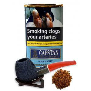 Capstan Navy Cut Ready Rubbed Pipe Tobacco 25g Pouch