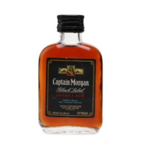 Captain Morgan Black Label Jamaica Rum Miniature - 5cl 70 Proof