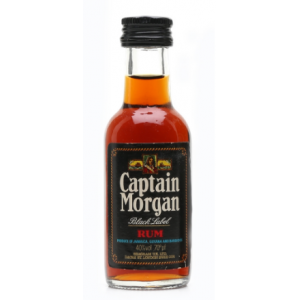 Captain Morgan Black Label Rum Miniature - 5cl 40%