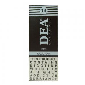 DEA Casanova Vape E- Liquid 10ml 14mg