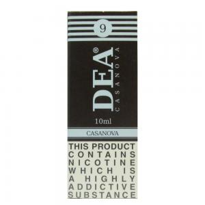 DEA Casanova Vape E- Liquid 10ml 09mg
