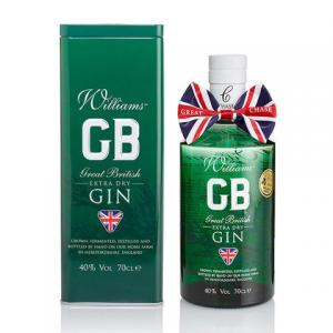 Chase Williams GB Gin in Presentation Tin - 70cl 40%